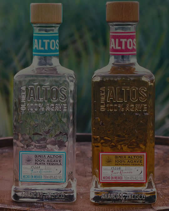 Altos Tequila Plata is made from 100% blue agave grown in the Los Altos highlands of Mexico.